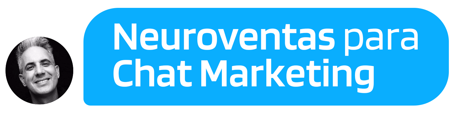 Junta Marketing + Neurolinguistica + Tecnologia y vende más con Whatsapp, Messenger, DMs.